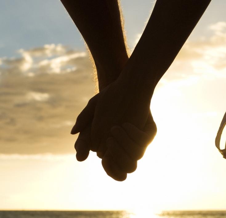 Christian Women Holding Hands